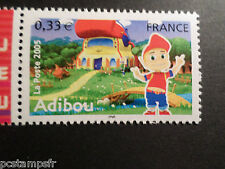 FRANCE, 2005, timbre 3848, ADIBOU, VIDEO GAMES, JEUX VIDEO, neuf** MNH STAMP