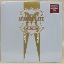"""NEW & Sealed Madonna """"Immaculate Collection"""" 2-LP Vinyl Record Set Gatefold (EU)"""