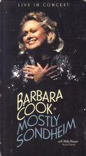 VHS: BARBARA COOK  MOSTLY SONDHEIM