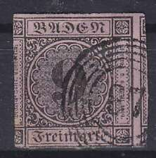 Baden mi No 4b, Tested Stegmüller BPP With NS 87 Postmarked, Old Germany 1851
