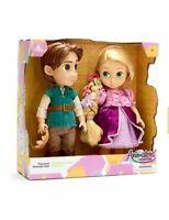 Disney Store Rapunzel and Flynn Animator Doll Set Tangled