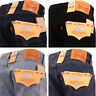 Levi 501 Jeans Original Straight Leg Fit Mens Denim Waist 28 30 32 34 36 38 40