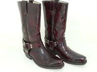 Buffalo London Damen Wetern Cowboy Stiefel Stiefeletten Womens Biker Boots Gr 42