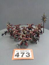 Warhammer 40,000 Chaos Khorne 473 marines espaciales