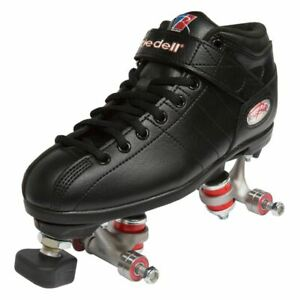 Riedell R3 Assembly Roller Skate - Black (Without Wheels)