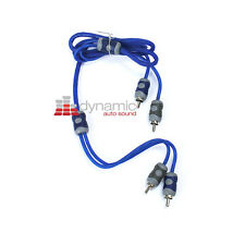 KICKER Ki21 (3.26 ft.) 1 Meter 2-Channel K-Series RCA Audio Interconnect Cable
