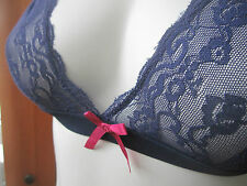 JACOB Purple lace bralette triangle bra size small s NEW NWT MSRP $20.90