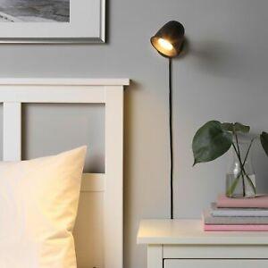 IKEA SKURUP Wall lamp Adjustable, black FREE SHIP