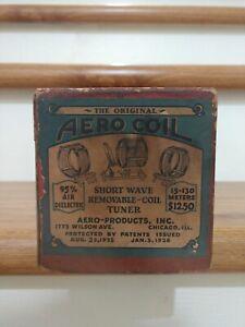 AERO COIL SET of 3  - Shortwave Plug In Rare Vintage Radio Coils