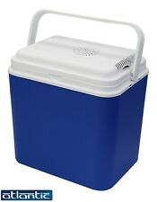 24/30 Litre Electrical Cool Box 12V Insulated Freezer Camping Travel Box