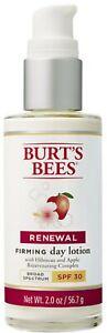 NEW! Burt's Bees Renewal Firming Day Lotion SPF 30, 2 oz., NO BOX