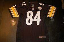 NFL On Field Youth Pittsburgh Steelers Antonio BrownJersey M 10/12