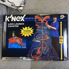 K'Nex Lava Launch Coaster With Box Instructions (See Description)