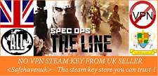 SPEC OPS: la chiave di vapore LINEA AREA VPN No GRATIS UK Venditore