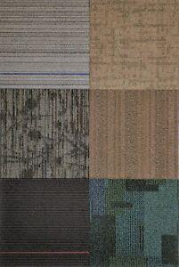 "Mix & Match Carpet Squares (Earth Family 12 Tiles 48 Sq. Ft. Per Box 24"" x 24"""
