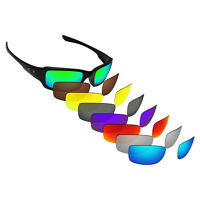 Hawkry Polarized Replacement Lenses for-Oakley Fives Squared Sunglass - Options