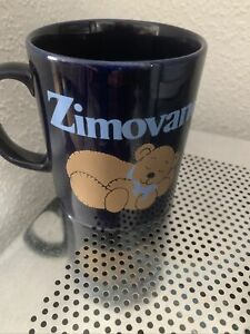 Zimovane Ceramic Mug Collectable Advertising Used Unwanted Bear Work Home Office