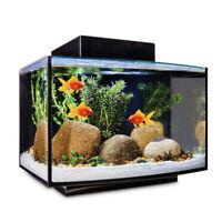 Plastic Vivid Floating Funny Fake Fish Decoration Ornament Goldfish for Aquarium