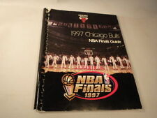 Basketball Chicago Bulls Vintage Sports Media Guides