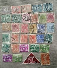 Netherlands 1800's-1900's stamp collection.  Used hinged