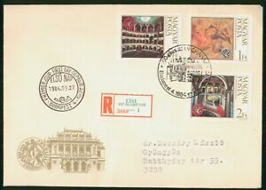 Mayfairstamps Hungary FDC 1984 Painting Combo Reg First Day Cover wwp_65481