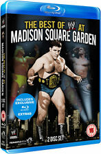 WWE - The Best Of Madison Square Garden (Blu-ray, 2013, 2-Disc Set)New Region B