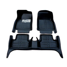 Coverking Custom Fit Front and Rear Floor Mats for Select Nissan Altima Models Black Nylon Carpet CFMBX1NS9235