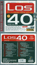 Los Cuarenta 40 Summer 2004 (2004) 2CD NUOVO Eiffel 65 Voglia Di Dance All Night