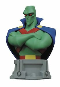 JUSTICE LEAGUE UNLIMITED ANIMATED SERIES / MARTIAN MANHUNTER BUST-STATUE MIB