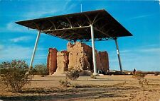 Casa Grande Ruins Coolidge Arizona AZ Postcard