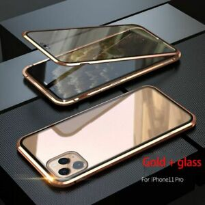 Cell Phone Anti-peep Magnetic Case Double Side For iPhone 11/ Pro/11Pro Max Case