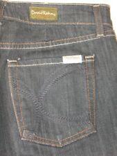 David Kahn Jeans Original Rise Bootcut K Pockets BLACK Sz  6