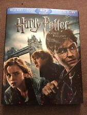 BLU-RAY Harry Potter And The Deadly Hallows 1 3-DISC Pack -USED - WITH SLIPCOVER