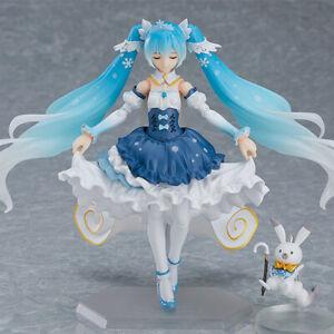 15CM Hatsune Miku 10th anniversary Hatsune  Action Figure Snow Hatsune Figure