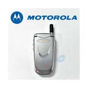 Téléphone Cellulaire Motorola V8088 Platinum Gris Gsm Remis à Neuf