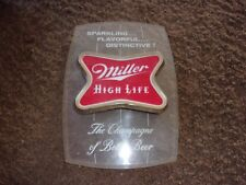 Vintage 1960's Miller High Life Beer Sign