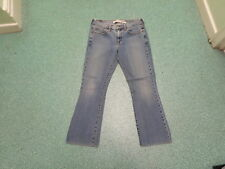 """LEVI'S 515 Bootcut Jeans Taille 8 M Taille 32"""" Jambe 29"""" BLEU MOYEN femme Jeans"""