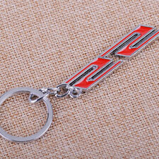 For All Car Chevrolet Chevy Metal Chrome Super Sport Ss Key Chain Ring Keychain Fits Kia Soul