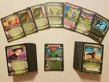 Dragonball Z GT CCG Saiyan Mastery + 163 Saiyan style cards With Rares and Foils