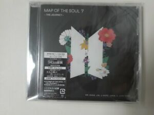 BTS Bangtan Boys MAP OF THE SOUL 7 -THE JOURNEY- Japanese Version CD Album Cheap