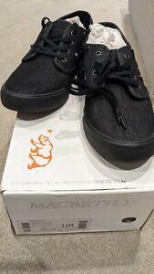 "Macbeth Vegan Canvas Men's Shoes, ""Langley"" by Tom DeLonge - Still In Box"