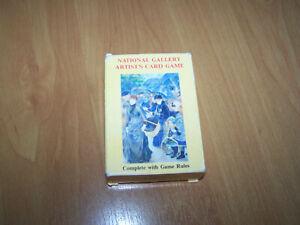 National Gallery Artist's Card Game (1998) Karten