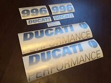 DUCATI 996s PERFORMANCE decals stickers graphics logo set kit