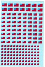 1/285 Chinese National Flag Water Slide Decals