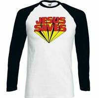 Keith Moon The Who T-Shirt Mens Jesus Saves Top as Worn by Retro Guitar MOD