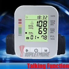 Automatic Digital Advanced Arm Blood Pressure Monitor with Large BP Cuff