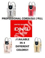 PROFESSIONAL PORTABLE DND Nail Drill -U pick from -Gold -Silver -Red -Rose -Gold
