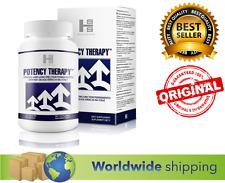 POTENCY THERAPY 60 capsules Strong Long Erection Better Sex Ejaculation vigrax