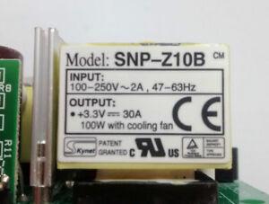 AVID / Digidesign D-Command/D-Control LED SNP-Z10B +3.3v 30A Power Supply