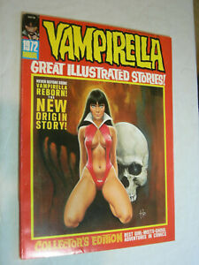Vampirella Annual #1 1972 VF Scarce The New Origin Story LOOK